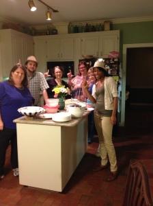 Lesley, Eric, Jennie, Beth, Nancy, and Tamara